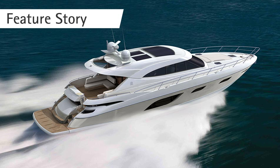 Riviera's new flagship Sport Yacht world premiere at Sydney International Boat Show
