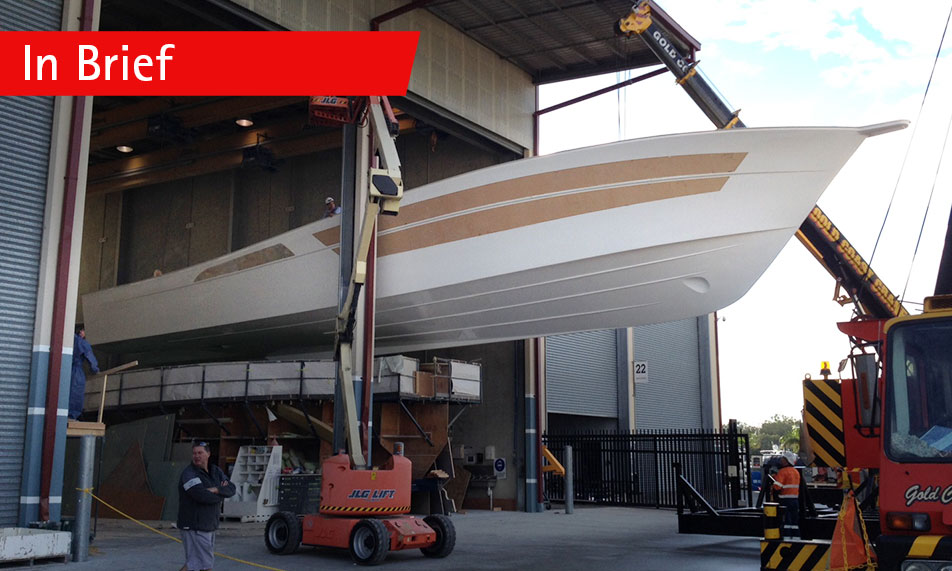 It's one hull of a big boat