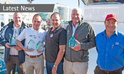 Riviera recognises marine industry excellence at the 2014 Australia and New Zealand Dealer Awards