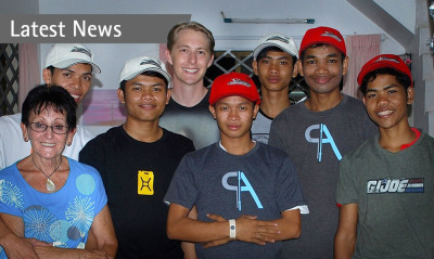 Riviera designer uses his skills to help boys in Cambodia