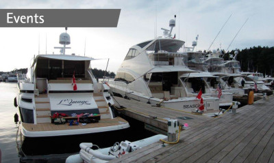 Roche Harbor Experience attracts Riviera owners from Canada and the United States
