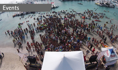 A beach party to remember for Riviera owners in Puerto Rico