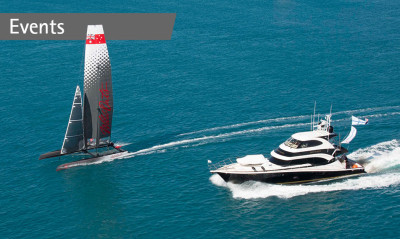 Riviera owner's exhilarating experience during Hamilton Island Race Week
