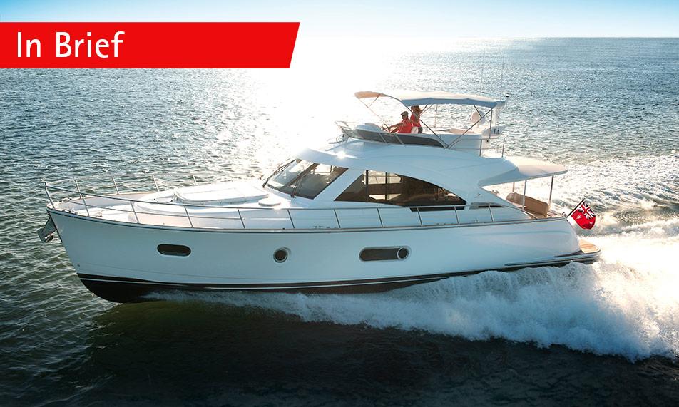Belize 54 Daybridge impresses  World Yachts Trophies Judges in Cannes