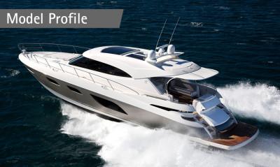 Australia's Riviera 6000 Sport Yacht makes her Americas Premiere