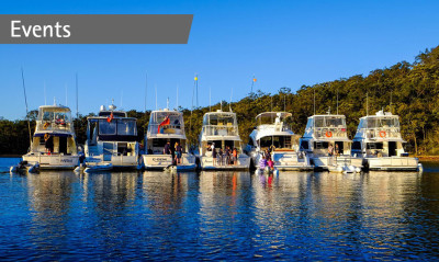 Amazing coastal cruising for The Myall Lakes Experience
