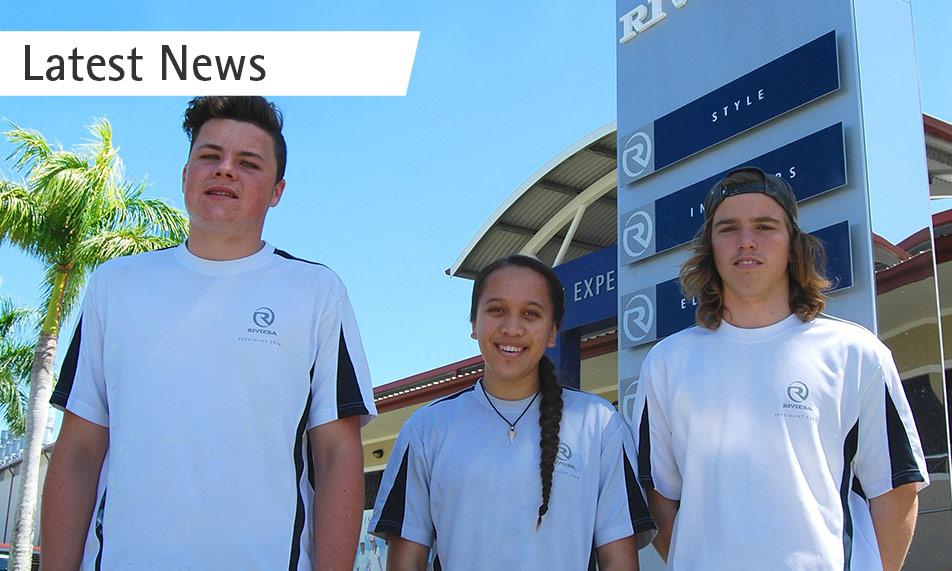 Riviera congratulates three award-winning school-based apprentices