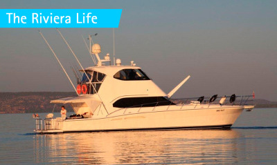 Making Memories on board Riviera 51 Enclosed Flybridge Prime Mover