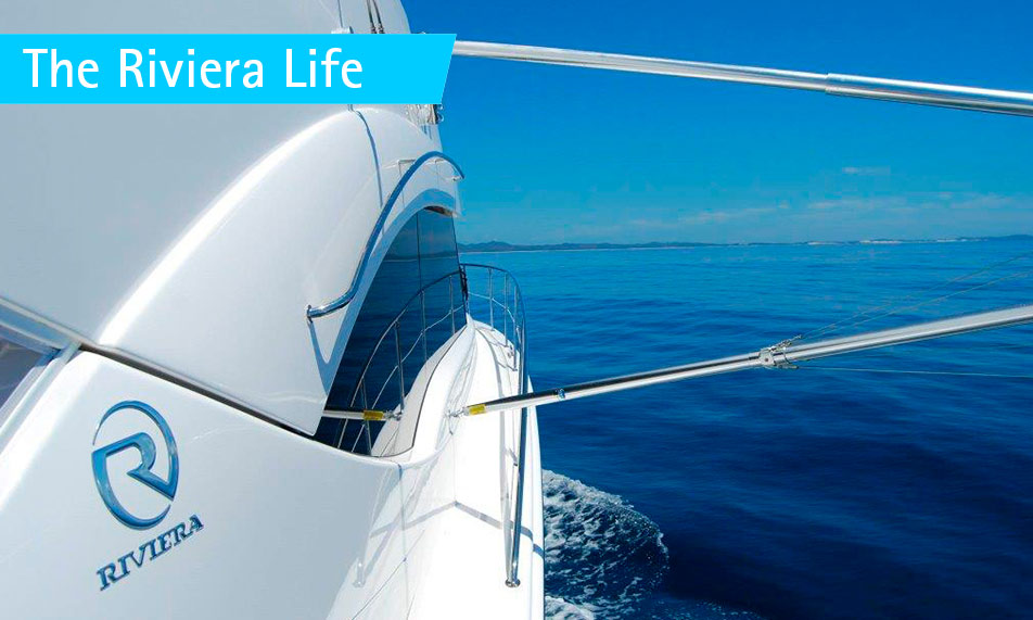 Riviera 53 Enclosed Flybridge means even BIGGER business