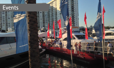 Riviera welcomes more new owners with strongest Miami Yacht and Brokerage Show since 2008