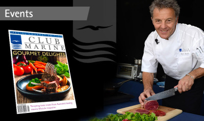 WIN an exclusive Club Marine Gourmet Experience with Bart Beek at Festival