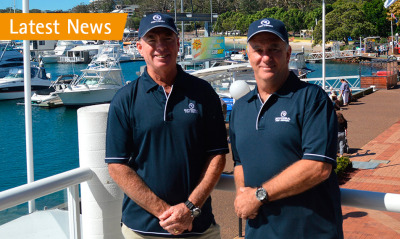Riviera welcomes Gary Lee and R Marine Port Stephens to the R Marine luxury motor yacht network in Australia