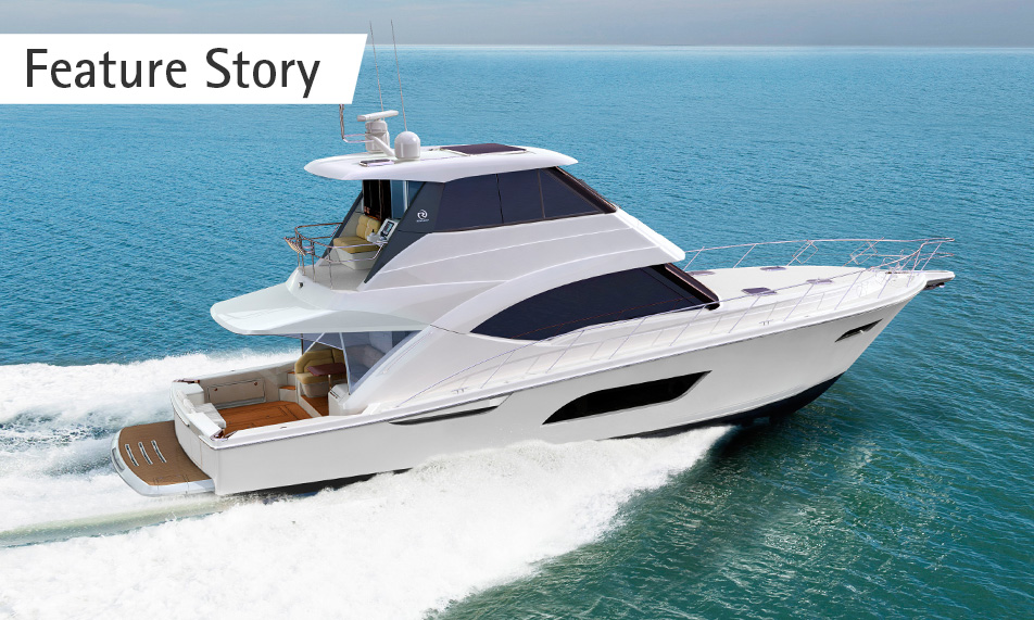 Riviera unveils its new 57 Enclosed Flybridge – the embodiment of innovation