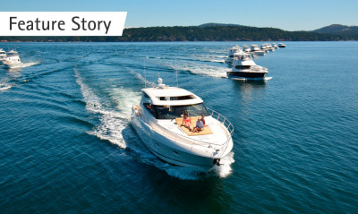 US Riviera owners experience Aussie magic in San Juan Islands