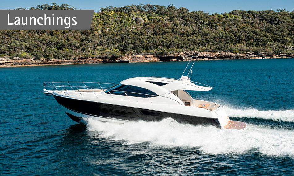 New Riviera 5000 Sport Yacht to Charleston (USA)