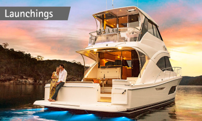 See our video of the new 57 Enclosed Flybridge