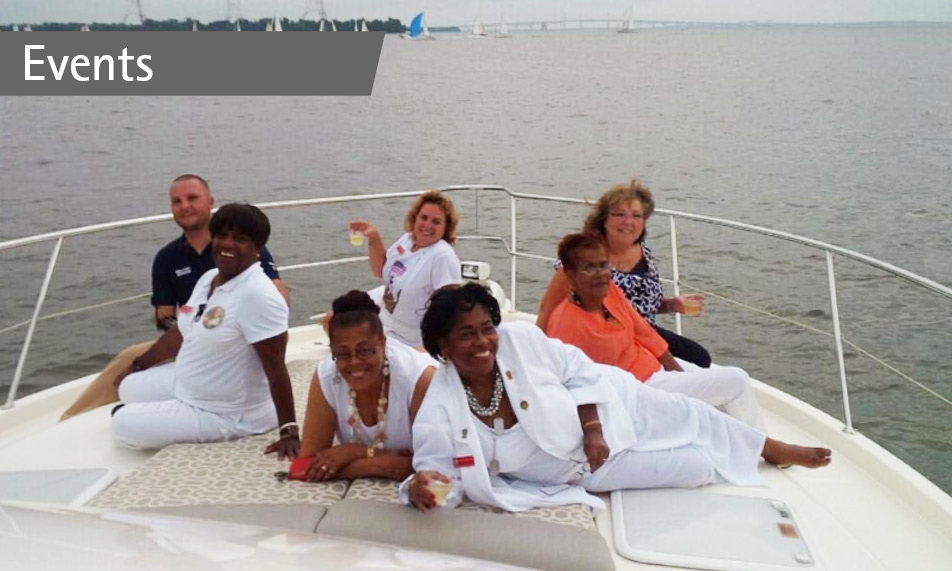 Special sunset cruise for Gold Star Mothers