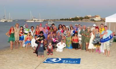 Family fun as Riviera and Belize dealer R Marine Mandurah helps owners celebrate a truly Australian experience