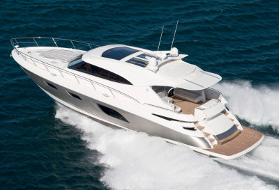 Boat Test Video: Riviera 6000 Sport Yacht