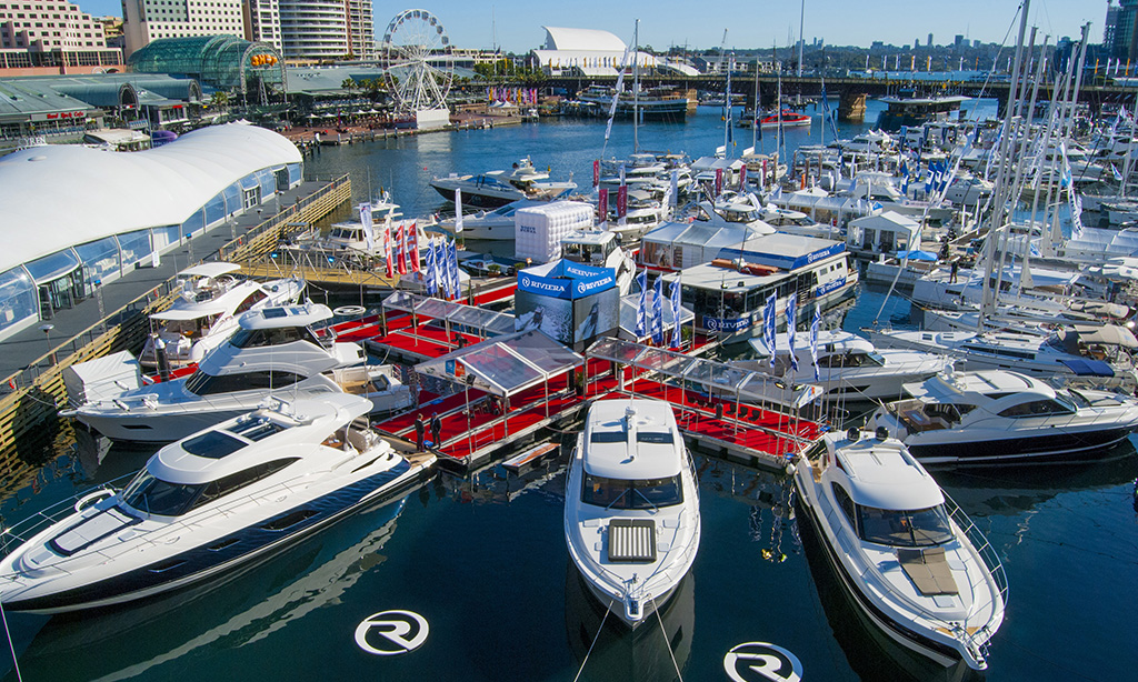 World Premiere of the new 4800 Sport Yacht takes centre stage for large Riviera display at Sydney International Boat Show