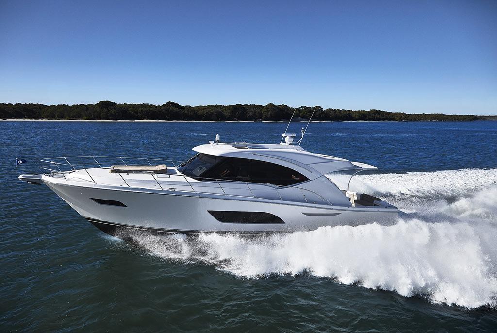 Sydney Premieres – Riviera 5400 Sport Yacht and Riviera 575 SUV