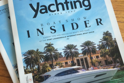 Yachting Magazine says the 5400 Sport Yacht is a winning combination